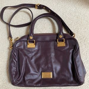 Marc by Marc Jacobs Oxblood Leather Handbag